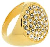 Jean Pierre Ladies 'Pave Brass Synthetic White Round Cut Diamond Ring Size N) HEJR1823 17 GP