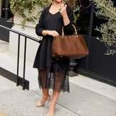 Bamboo Elisabetta Handbag, Sauvage Leather