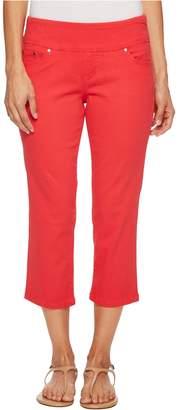 Jag Jeans Women's Petite Peri Straight Pull on Crop