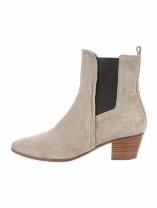 IRO Suede Chelsea Boots Brown