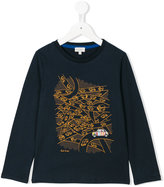 Paul Smith long sleeve printed T-shirt - kids - Cotton - 2 yrs