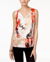 Bar III V-Back Tank Top, Only at Macy's