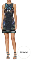 Mary Katrantzou Azalea Silk Embellished A-Line Dress