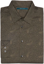 Perry Ellis Big and Tall Fine Paisley Print Shirt