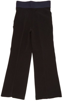 Toga Pulla Black Synthetic Trousers