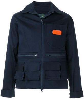Piet Worker patch pockets jacket