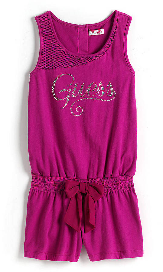 GUESS Tweens 7-16 Cotton Romper
