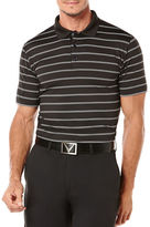 Callaway Golf Performance Stripe Short Sleeve Polo Shirt