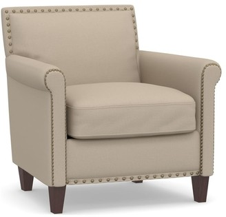 Pottery Barn Roscoe Upholstered Armchair