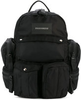 DSQUARED2 multi-pocket backpack - men - Nylon - One Size