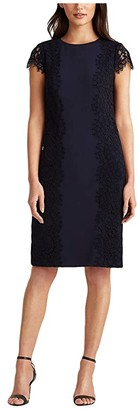 Lauren Ralph Lauren Vesna Dress (Lighthouse Navy) Women's Dress