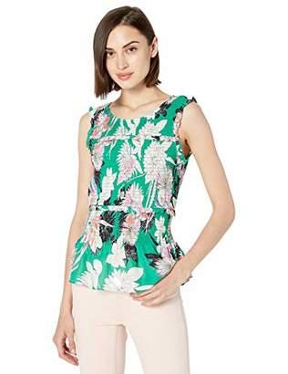 Parker Women's Rashida Sleeveless Smocked Waist Top