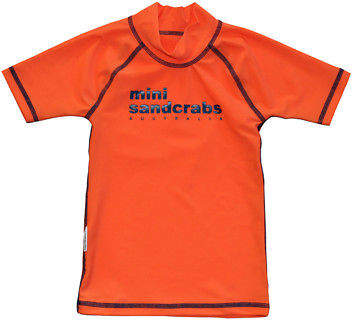 Calypso Mini Sandcrabs UV50 Swimwear NEW Classic short sleeve rashie for boys in Octopus by Mini Sandcrabs UV