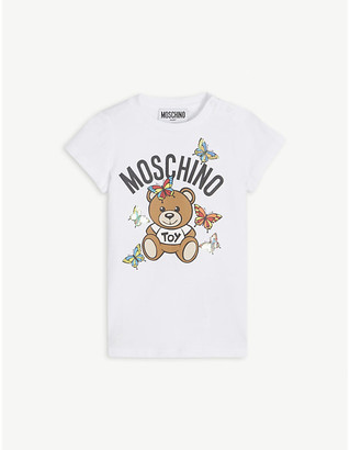 Moschino Graphic-print cotton-blend T-shirt 3 months-3 years