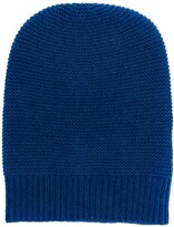 N.Peal ribbed knitted beanie hat