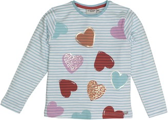 Salt&Pepper Salt and Pepper Girl's Longsleeve Sunny Day Stripes T-Shirt