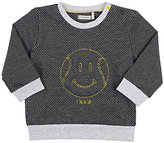 Ikks Cotton-Blend Jacquard Sweatshirt