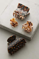 Anthropologie Tortoise Hair Clip Set