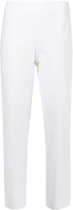 Eileen Fisher System slim fit cropped trousers