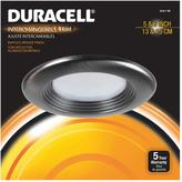 Duracell 6 in Brushed Bronze Recessed LED Baffled Trim