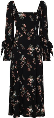 Reformation Aubrey floral-print midi dress