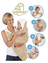 Cuddledry Original Baby Apron Bath Towel Oatmeal - Pack of 4