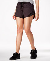 Hurley Juniors' Water-Repellent Faux-Suede Sporty Shorts