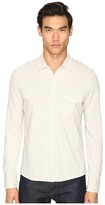 Billy Reid Combo Pique Button Down Men's Clothing