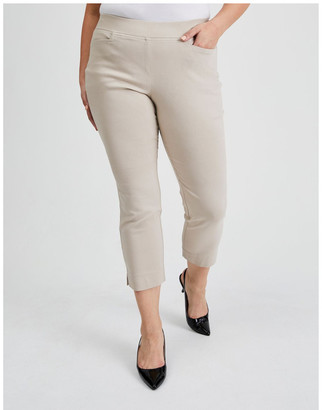 Regatta Essential Stretch Crop Pant in Mid Stone