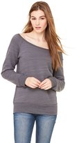 B.ella Canvas Ladies' Sponge Fleece Wide Neck Sweatshirt - 2XL