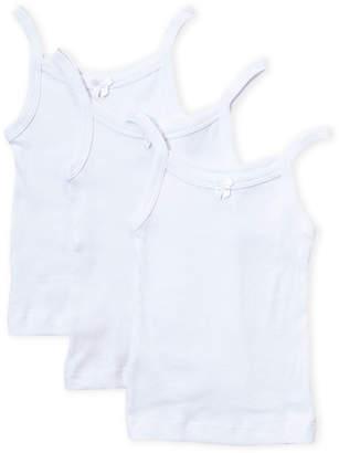 Rene Rofe Toddler Girls) 3-Pack White Camisoles