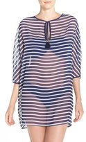 Tommy Bahama Women's Breton Stripe Cover-Up Tunic