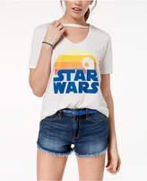 Mighty Fine Juniors' Star Wars Choker Graphic-Print T-Shirt