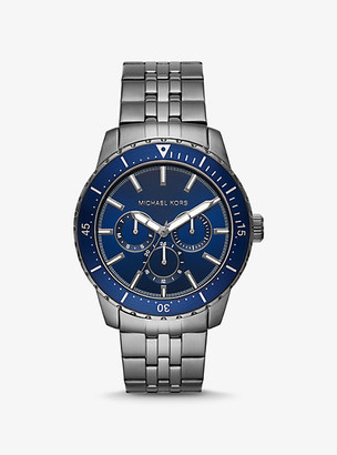 Michael Kors Oversized Cunningham Gunmetal Watch