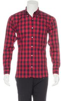 Black Fleece Gingham Woven Shirt