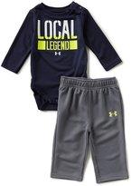 Under Armour Baby Boys Newborn-12 Months Local Legend Long-Sleeve Bodysuit & Pant Set