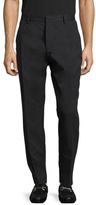 Antony Morato Cotton Solid Flat Front Trousers