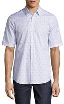 Jil Sander Prints & Stripes Sportshirt