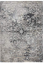 Panache Rizzy Home Collection Juliet Scroll Rectangular Rugs, One Size , Brown