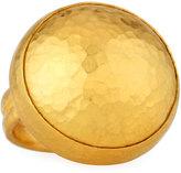 Gurhan Amulet 24K Round Ring, Size 6.5