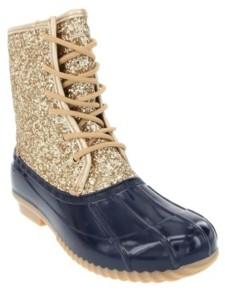 Sugar Women's Skylar Glitter Duck Boots Women's Shoes