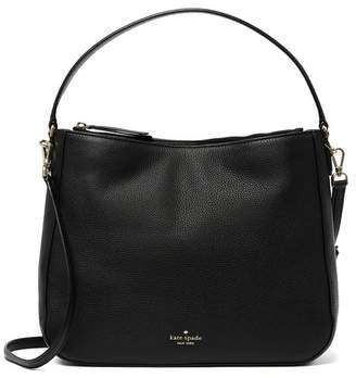 Kate Spade Jackson Double Compartment Leather Shoulder Bag