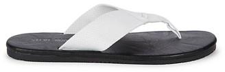 Steve Madden Logo Leather Slides