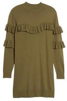 BP Women's Ruffle Sweater Dress
