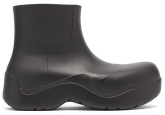 Bottega Veneta Puddle Biodegradable-rubber Ankle Boots - Black