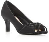 Caparros Eliza Embellished Mid Heel Pumps