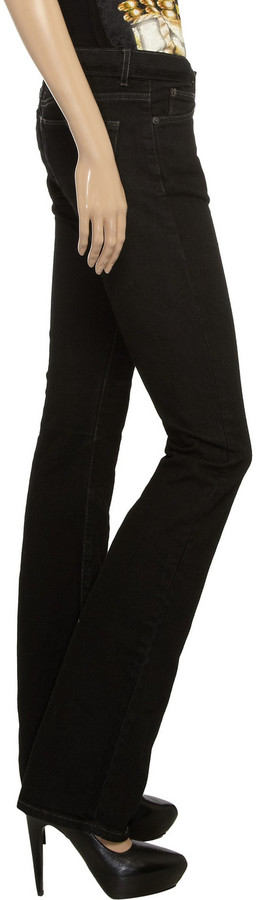 Rick Owens Mid-rise bootcut jeans