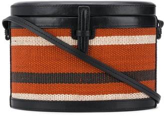 Hunting Season Trunk woven-effect bag