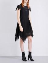 Sportmax Check-print woven dress