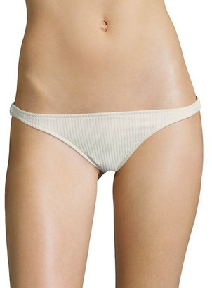 Made by Dawn Glimmer Ribbed Bikini Bottom